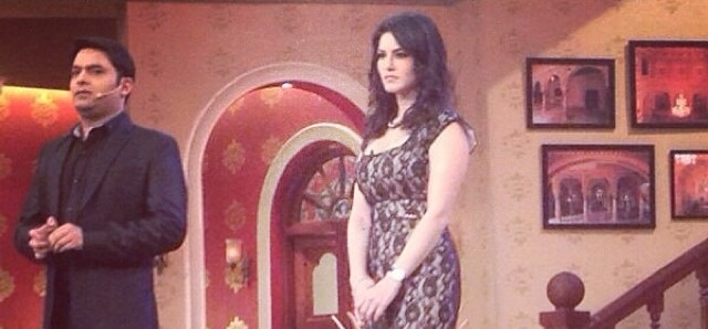 Sunny Leone on 'Comedy Nights with Kapil Sharma'