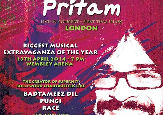 Pritam to perform in London at Wembley Arena