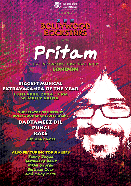 Pritam first UK concert