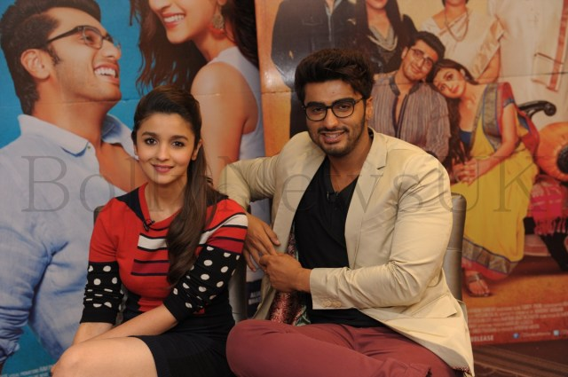 Alia Bhatt and Arjun Kapoor in London (3)