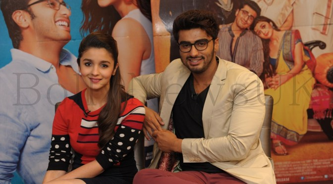 Photos: Alia Bhatt and Arjun Kapoor promote '2 States' in London