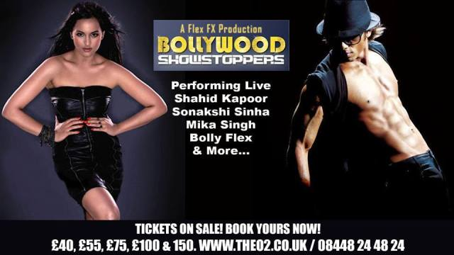 Bollywood Showstoppers Shahid & Sonakshi