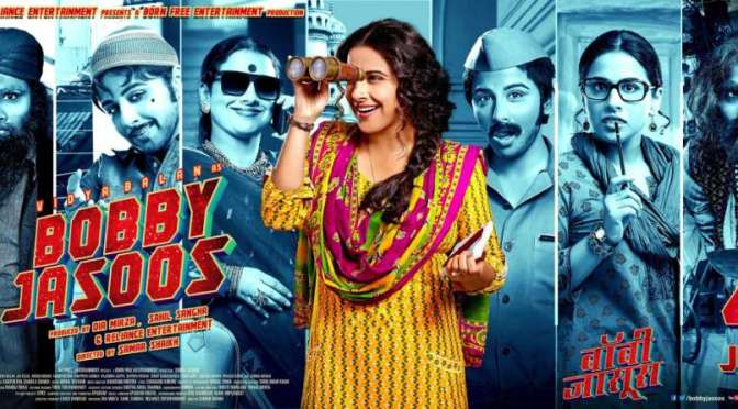 Interview: Vidya Balan talks about 'Bobby Jasoos'