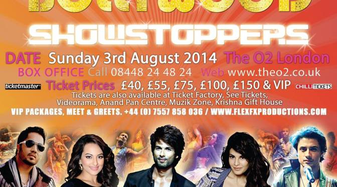 Competition: Win tickets to Bollywood Showstoppers 2014
