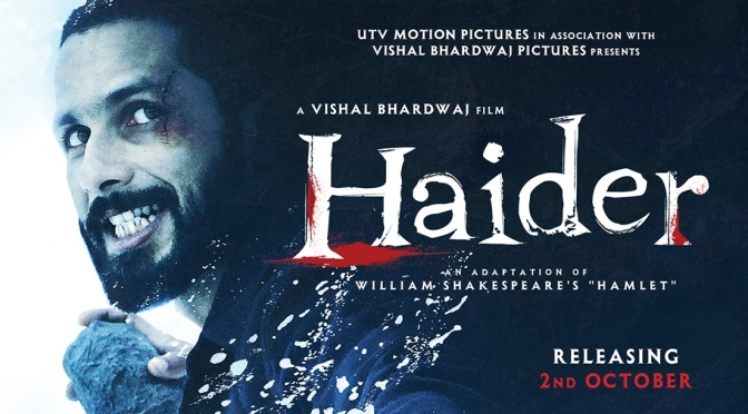 Trailer: Shahid Kapoor in and as 'Haider'