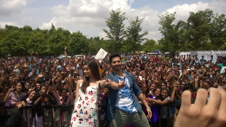 Humpty Sharma Ki Dulhania Bangalore promotions (1)