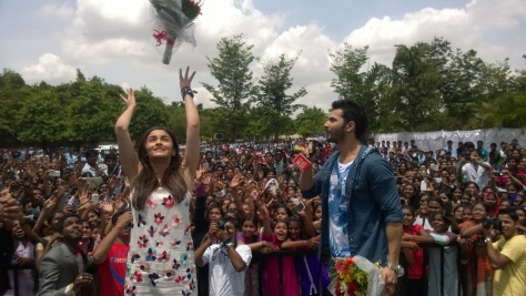Humpty Sharma Ki Dulhania Bangalore promotions (2)