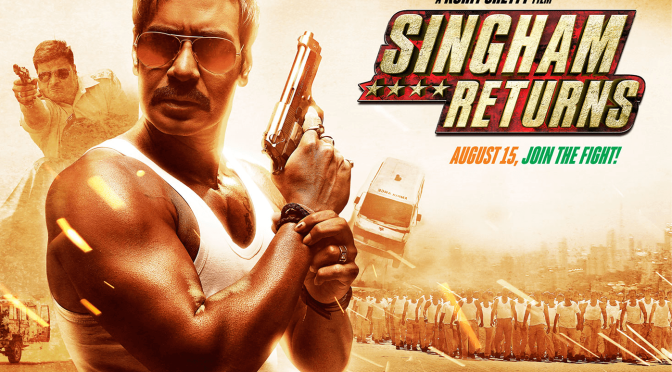 Ajay Devgn reprises action hero role in 'Singham Returns'