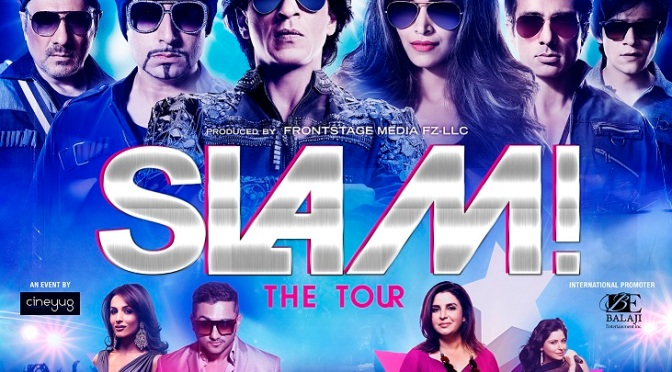 SLAM! – The Tour feat. SRK, Deepika and more