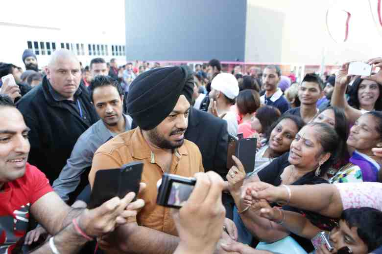 Gurpreet Ghuggi at Odeon UK