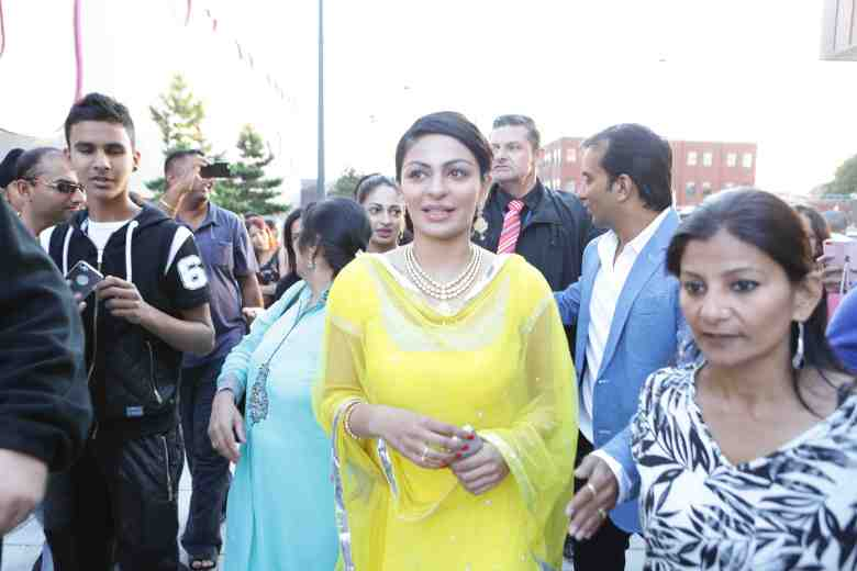 Neeru Bajwa at Odeon