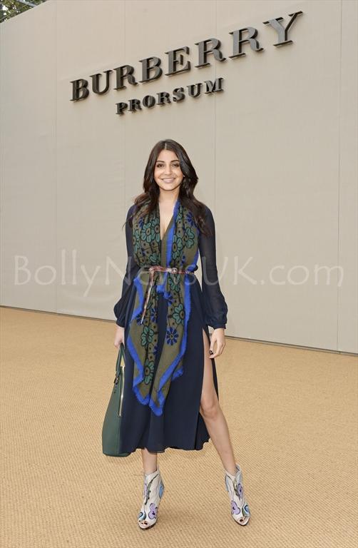 Anushka Sharma at the Burberry Prorsum Spring_Summer 2015 Show