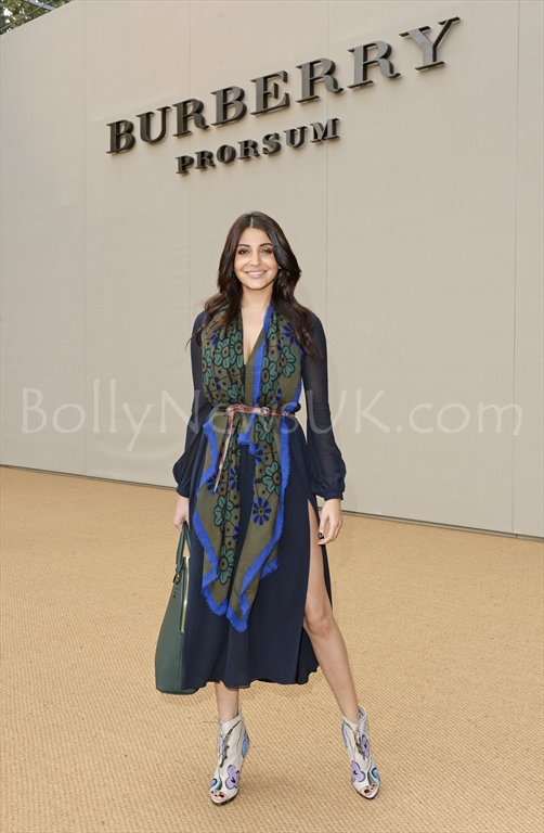 Anushka Sharma at the Burberry Prorsum Spring_Summer 2015 Show