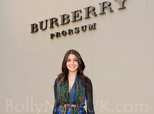 Spotted: Anushka Sharma at Burberry Prorsum S/S15 Show in London