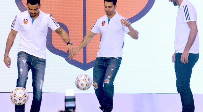 Varun Dhawan – The face of FC Goa
