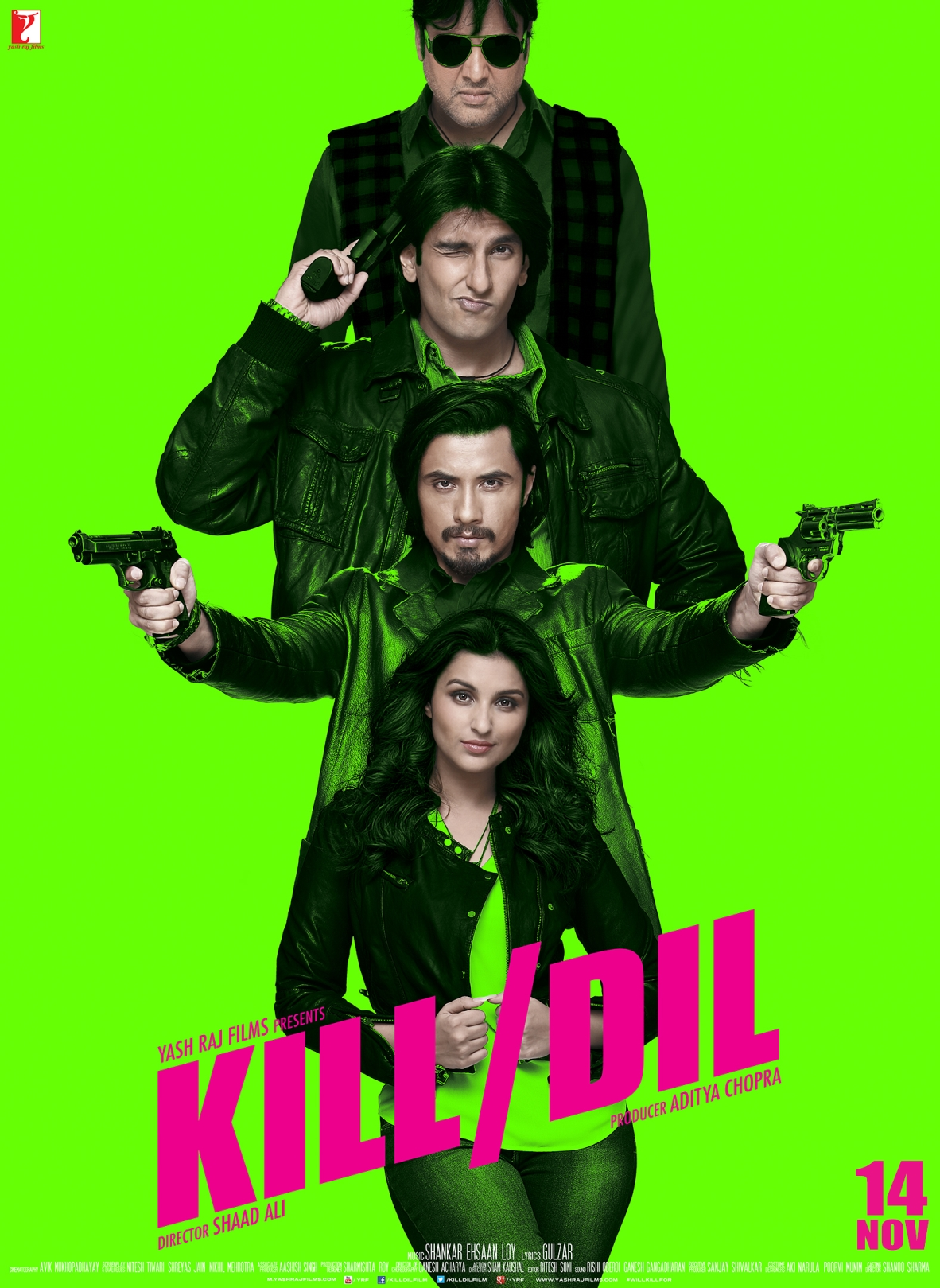 Kill Dil (2014) Hindi Movie Trailer