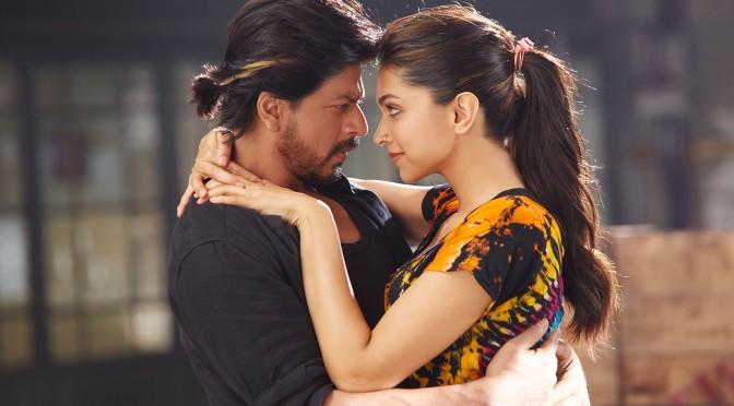 SRK and Deepika romance in 'Manwa Laage'