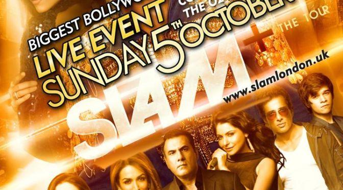 """Slam+ The Tour"" in London feat. SRK, Deepika, Abhishek"