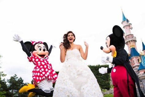 Sonam in Disneyland