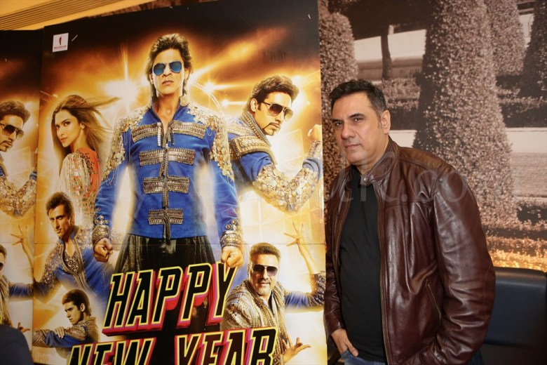 Boman Irani at Happy New Year promotions in London