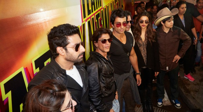 Spotted: Team #HNY arrives in India
