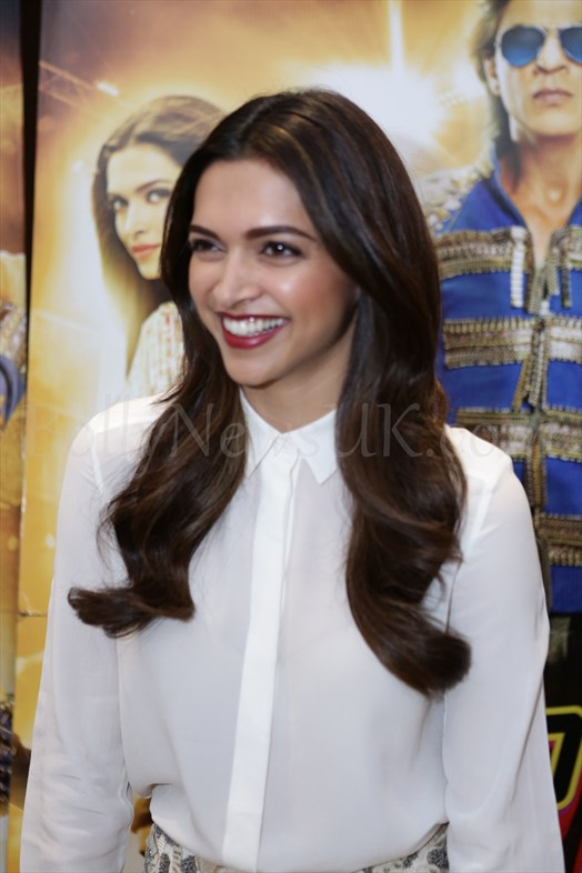 Happy New Year promotions in London with Deepika Padukone