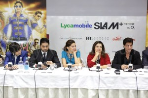 Happy New Year SLAM Press Conference in London (1)