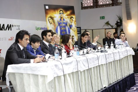 Happy New Year SLAM Press Conference in London (2)