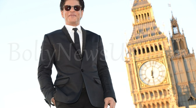 Shah Rukh Khan & his three UK doctorates