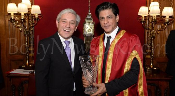 Photos: Shah Rukh Khan receives Global Diversity Award in London