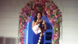 Priyanka at Arpita Khans wedding
