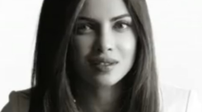 Priyanka Chopra sings John Lenon song IMAGINE for UNICEF