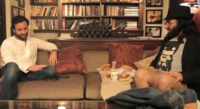 Watch: Saif Ali Khan interviews Saif Ali Khan!
