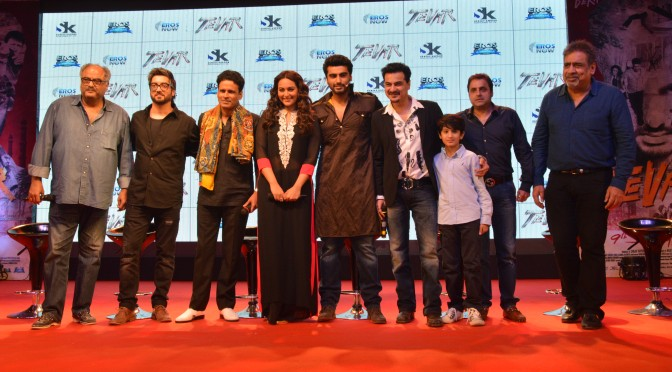 Eros International & Sanjay Kapoor Entertainment launch the trailer of 'TEVAR'