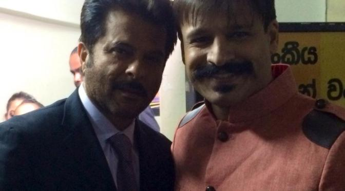Vivek's new look inspired by Anil Kapoor