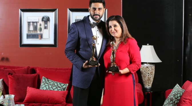 Photos: Abhishek Bachchan & Farah Khan win at Masala Awards 2014