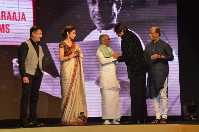 Shamitabh Music Launch Sridevi