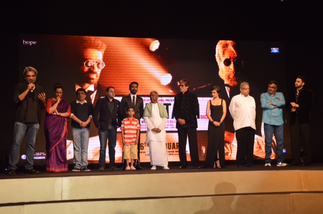 Shamitabh Music Launch Team