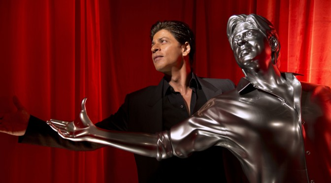 Watch: SRK immortalized in 3D printed model