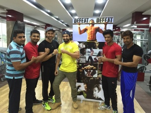 Hrithik Roshan in Bhuj. Gym.