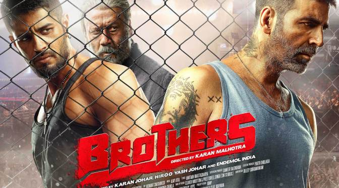 First Look: Akshay Kumar and Sidharth Malhotra in 'Brothers'
