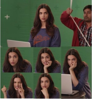 Deepika Padukone at the photo shoot for her upcoming release, PIKU.