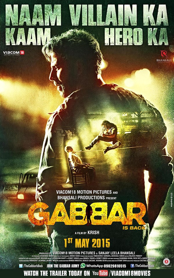 Gabbar is Back UK Release