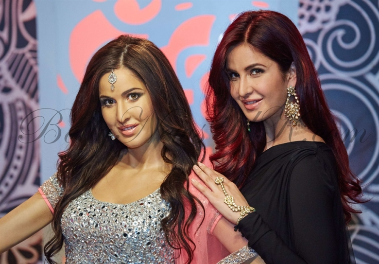 Katrina Kaif at Madame Tussauds London