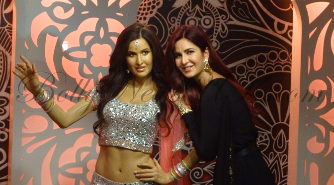 Katrina Kaif unveils her wax figure at Madame Tussauds London