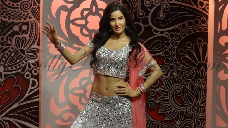 Katrina Kaif's wax figure at  Madame Tussauds London