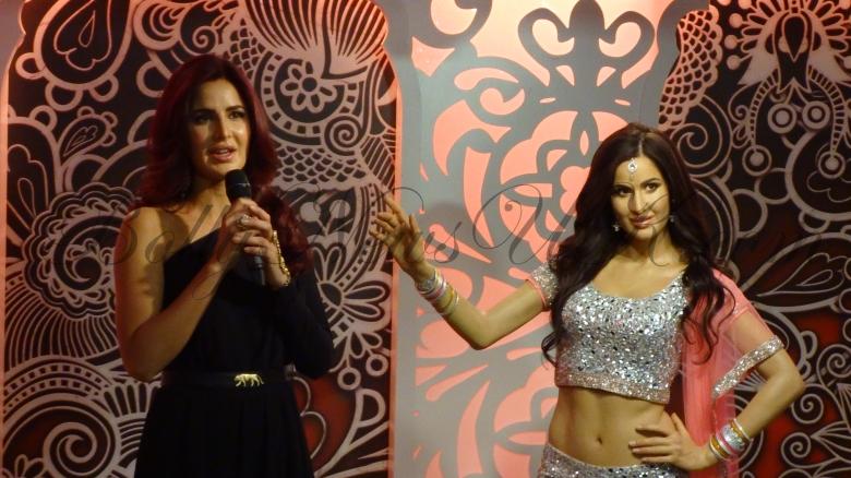 Katrina Kaif speaks at Madame Tussauds London