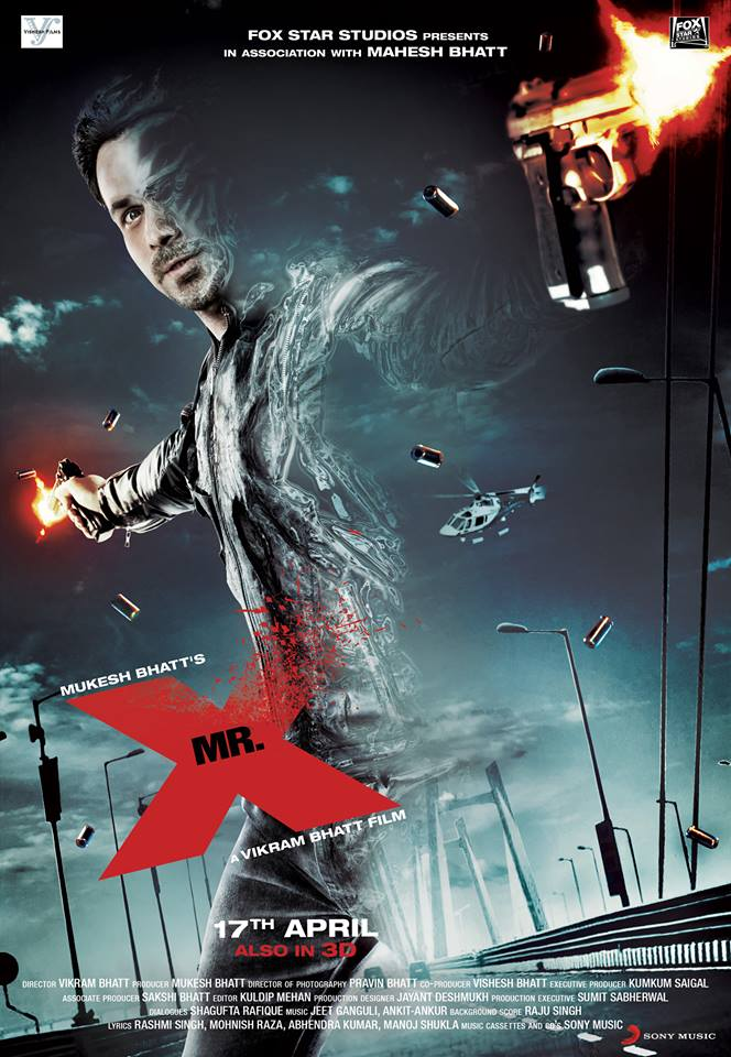 MR X UK Release 3D 20th Century Fox