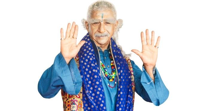 Naseeruddin Shah's character in Dharam Sankat Mein inspired by Gurmeet Ram Rahim Singh?