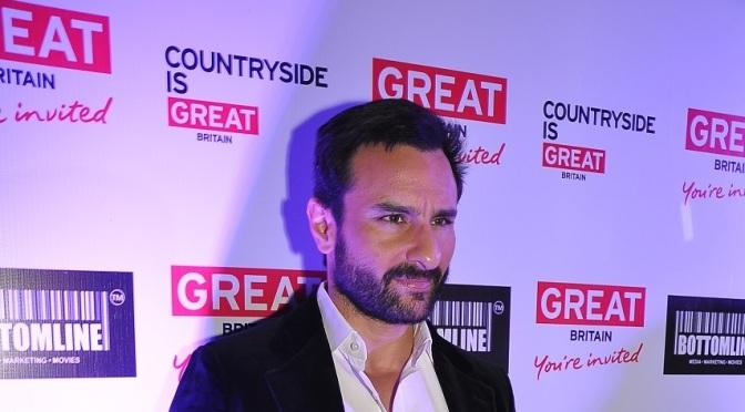Saif Ali Khan promotes Visit Britain